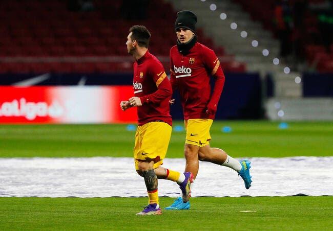Barça: Koeman désespéré, Griezmann prend un coup de pied aux fesses