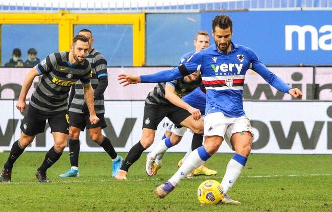 Ita : L'Inter perd gros face à la Sampdoria