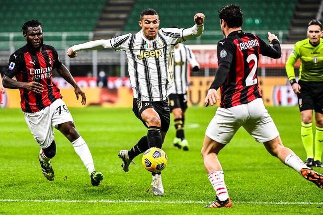 Ita : La Juventus stoppe brutalement l'AC Milan