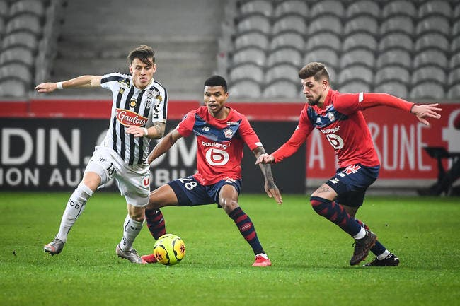 Lille-Angers : 1-2