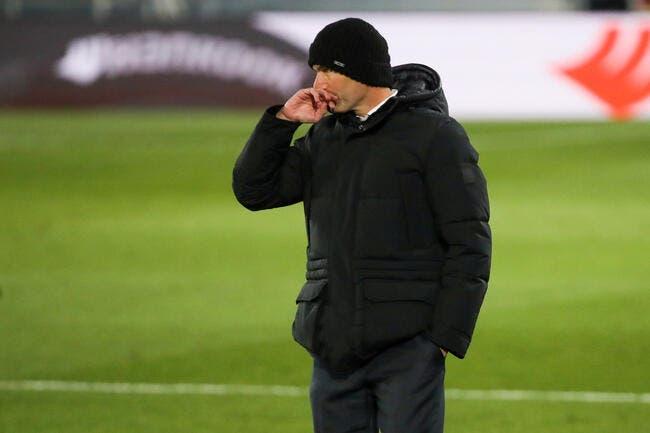 Covid : Zidane placé à l'isolement