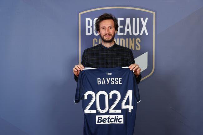 Bordeaux : Baysse prolonge jusqu'en 2024