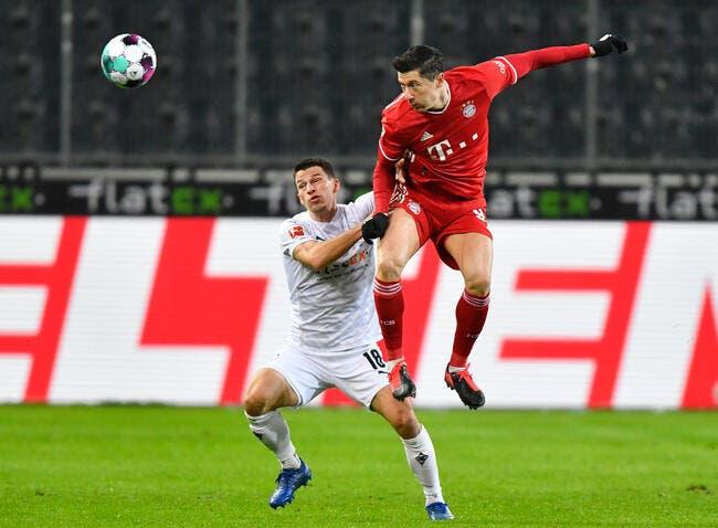 Bundesliga : Malgré Lewandowski, le Bayern tombe à Mönchengladbach