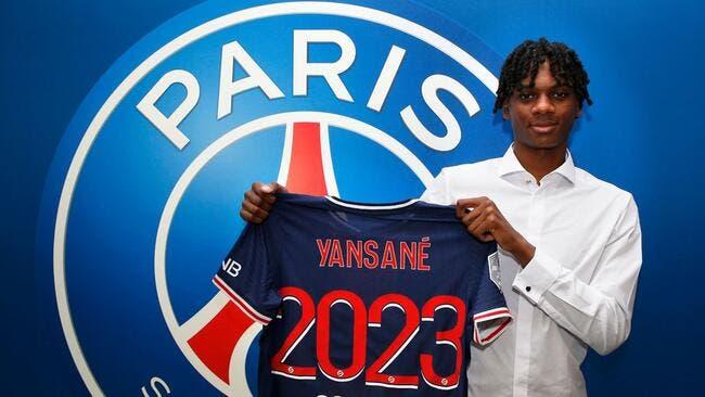 Sekou Yansané, 17 ans, quitte le DFCO pour le PSG — Mercato