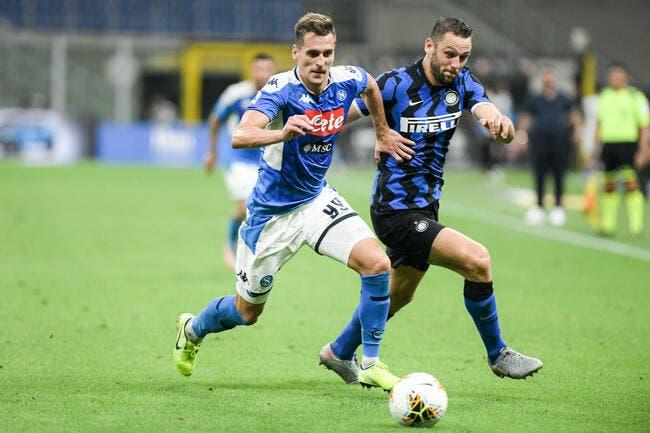 OM : De Laurentiis craque, Marseille y croit pour Milik !