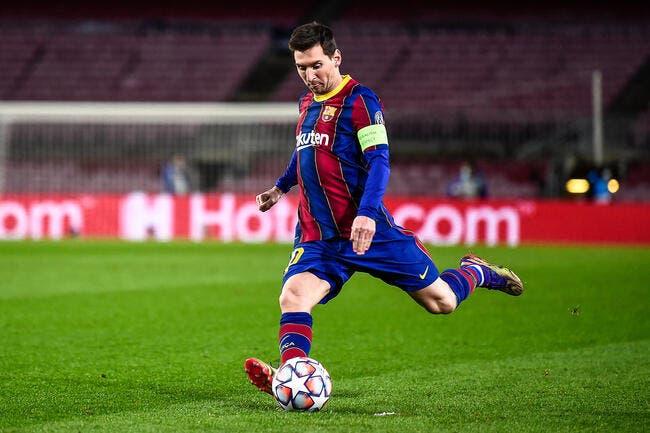 Esp : Le Barça gagne 4-0, des doublés signés Messi et Griezmann