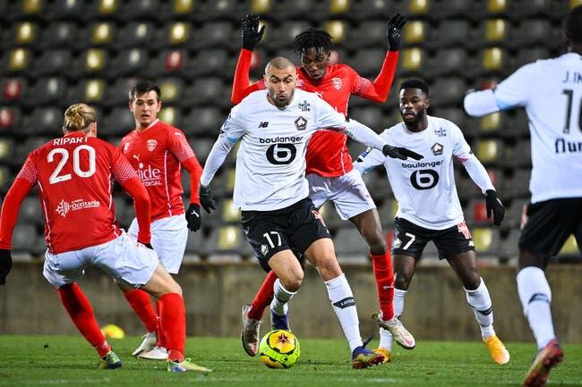 Nîmes - Lille : 0-1