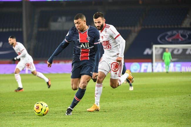 PSG - Brest : 3-0