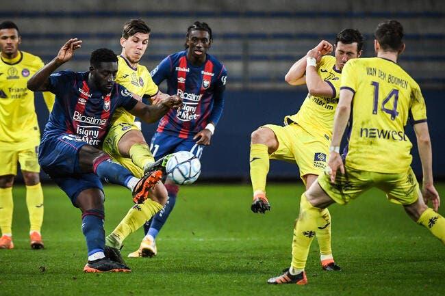 L2 : Caen neutralise le TFC, Troyes champion d'automne