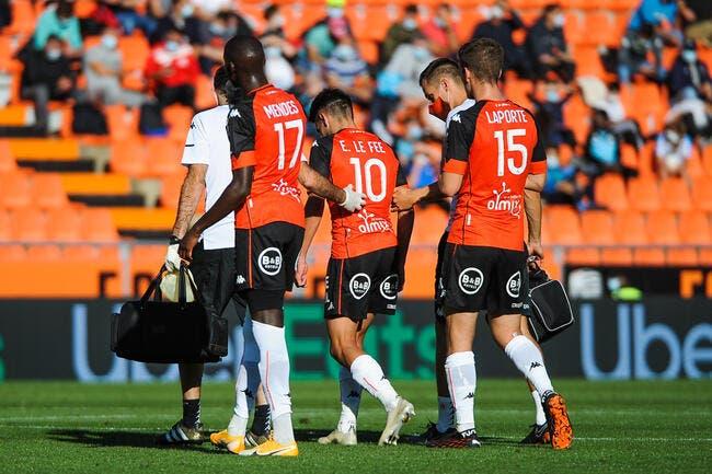 Covid-19 : Menace sur le match Lorient-Dijon ?