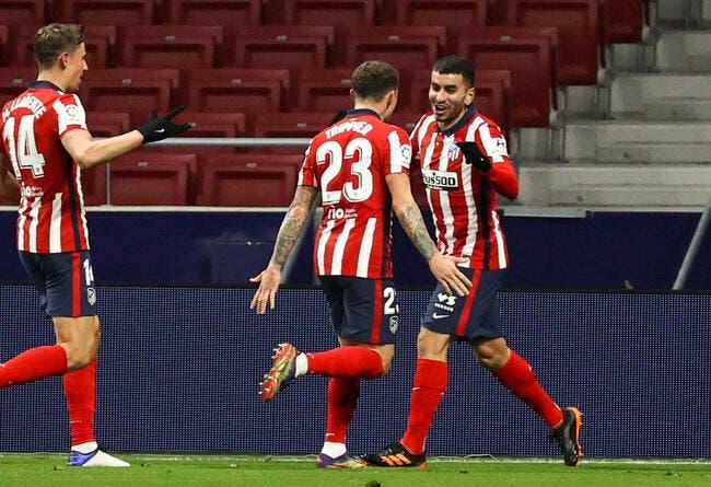 Esp : L'Atlético Madrid fait le break