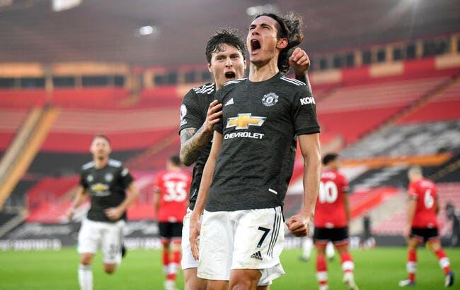 Ang : Cavani le monsieur titre de Manchester United