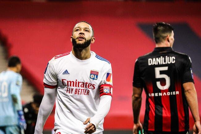 OL : L'Inter veut Depay et avance un atout XXL