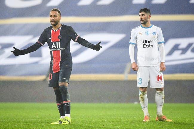 PSG-OM : Alvaro s'estime au-dessus de Neymar