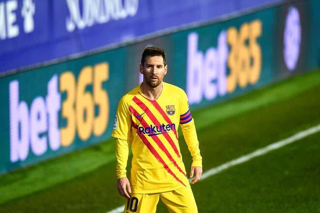 Esp : Messi part, le Barça doit préparer sa statue