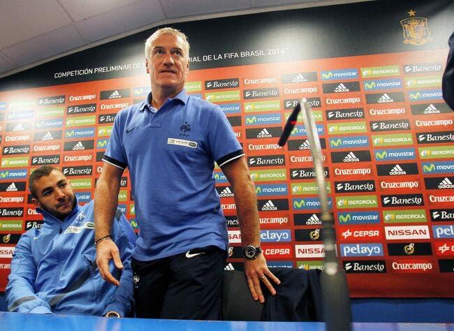 Malaise: Deschamps et Benzema la France c'est fini