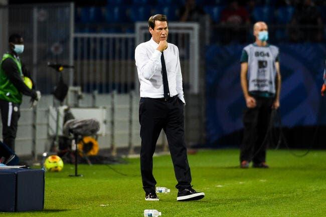 OL: Slimani difficile à gérer, Garcia devra assumer