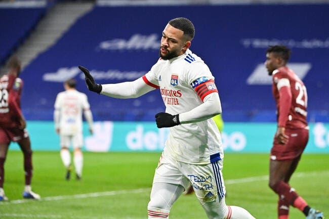 L1 : L'OL chute contre Metz, le PSG et le LOSC s'échappent