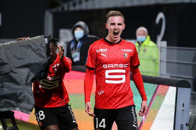 Ligue 1 : Rennes n'oublie pas l'Europe