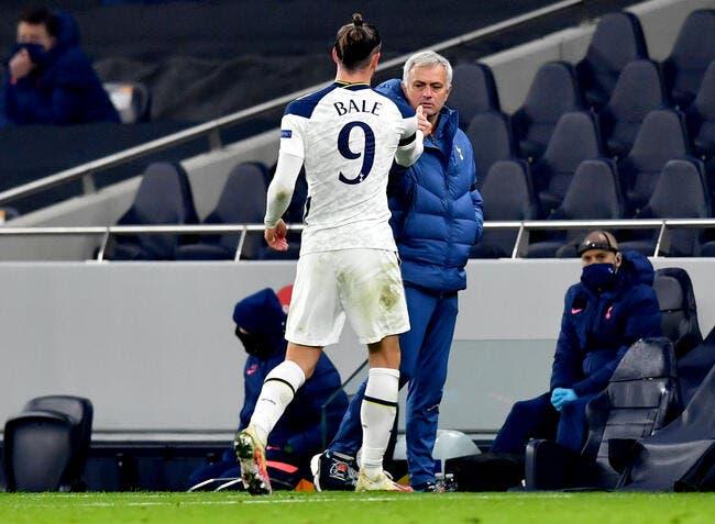 Ang : Mourinho balance sur Gareth Bale, un micro a tout entendu