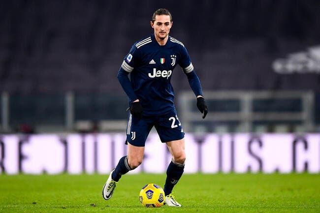 Juventus : Adrien Rabiot passe salement à la casserole