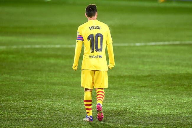 Barça :Des mois de perdu, le dossier Messi plombé