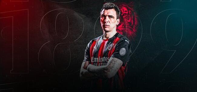 Officiel : Mario Mandzukic signe à l'AC Milan