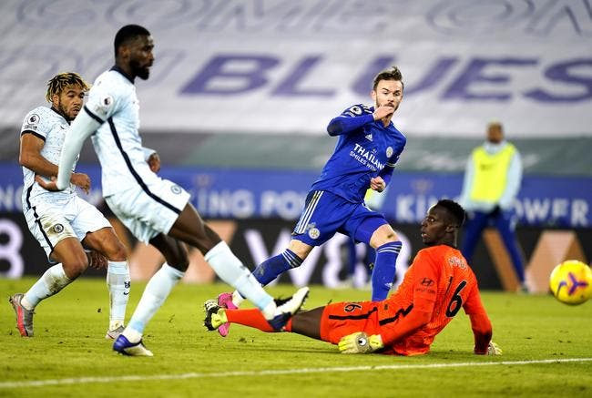 PL : Leicester tape Chelsea et passe leader