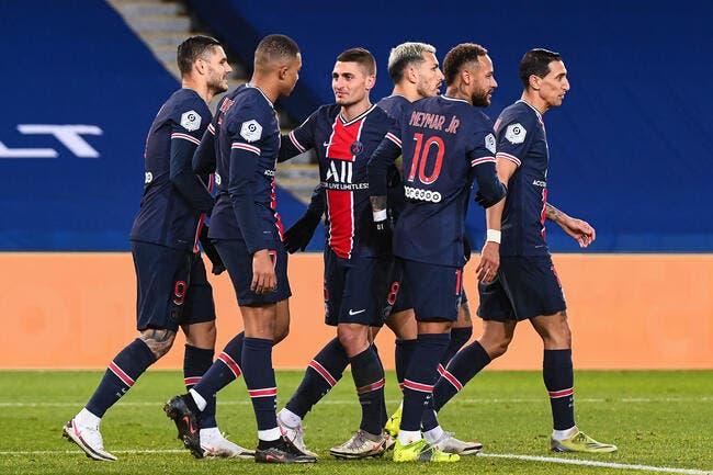 L1 : Mbappé et Neymar s'amusent, le PSG distance le LOSC et l'OL