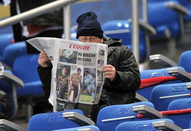 Presse: Grève suspendue, le journal L'Equipe de retour