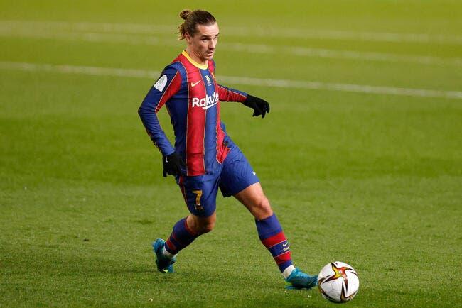 Esp : Griezmann sauveur, Barcelone y croit