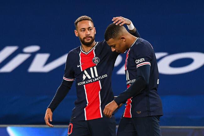 PSG : Neymar drague Paris et Mbappé, c'est de l'amour