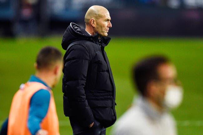 Esp : Zidane joue sa peau, le Real adore ça