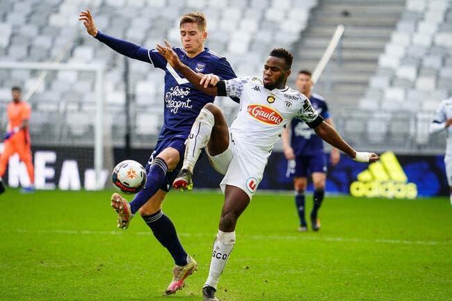 L1 : Bordeaux enchaîne dans la douleur contre Angers