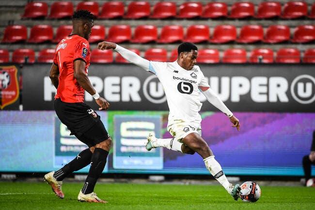 Rennes-Lille (0-1) - Les Dogues reviennent à hauteur du PSG