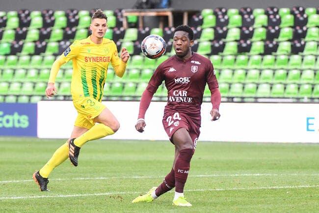L1 : Metz plonge Nantes dans le doute, Reims se relance
