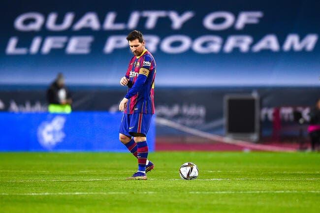 Esp : Barcelone s'écroule financièrement, Messi doit partir
