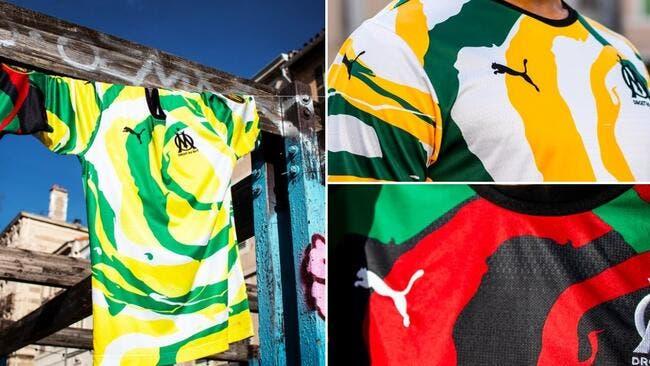 Photo : « OM Africa », trois nouveaux maillots dévoilés