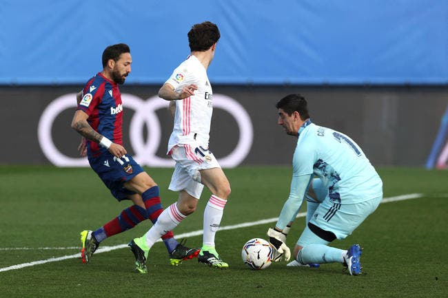 Esp : Le Real Madrid battu à domicile !