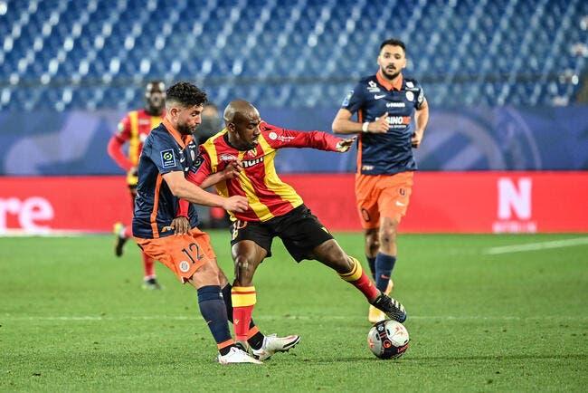 Lens enfonce Montpellier et peut rêver d'Europe