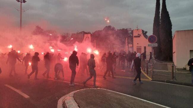 OM : 25 supporters interpellés à la Commanderie