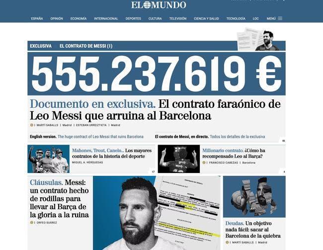 Esp : Lionel Messi accusé d'avoir ruiné le FC Barcelone !