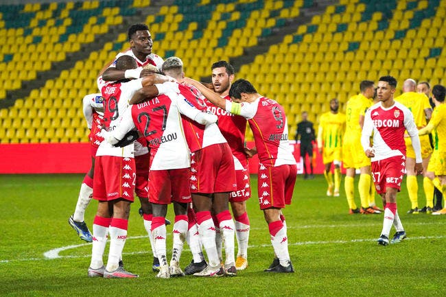 L1 : Monaco recolle au PSG, Domenech écrit l'histoire à Nantes