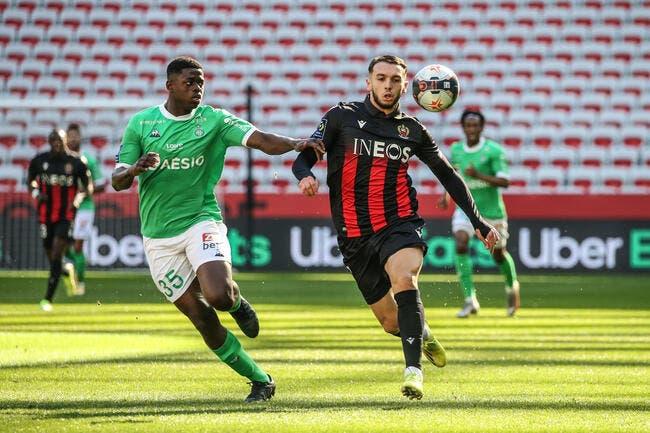L1 : Saint-Etienne torpille Nice !