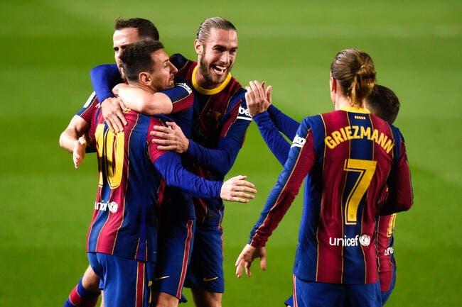 Liga : Griezmann sauveur du Barça !