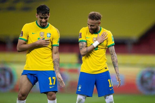 Copa America : Paqueta envoie le Brésil en 1/2 finale