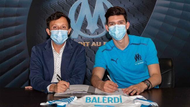 OM : Balerdi s'engage avec Marseille jusqu'en 2026