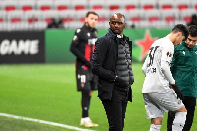 Ang : Patrick Vieira nouveau coach de Crystal Palace