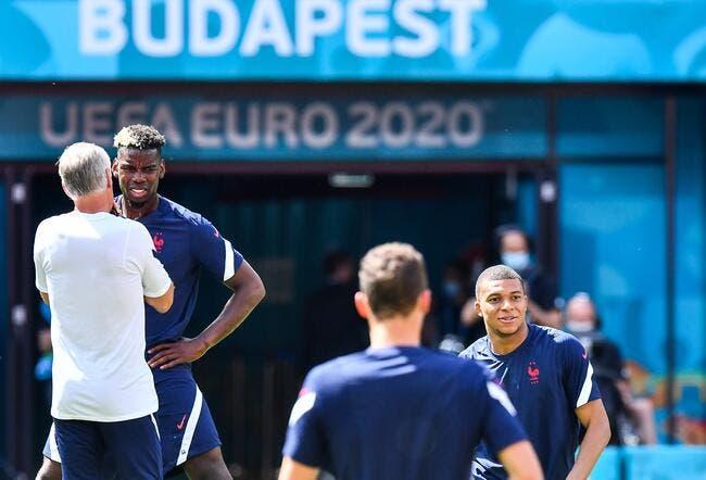 EdF : Pogba brillant à l'Euro, merci Mbappé