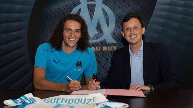 Officiel : Mattéo Guendouzi signe à l'OM !